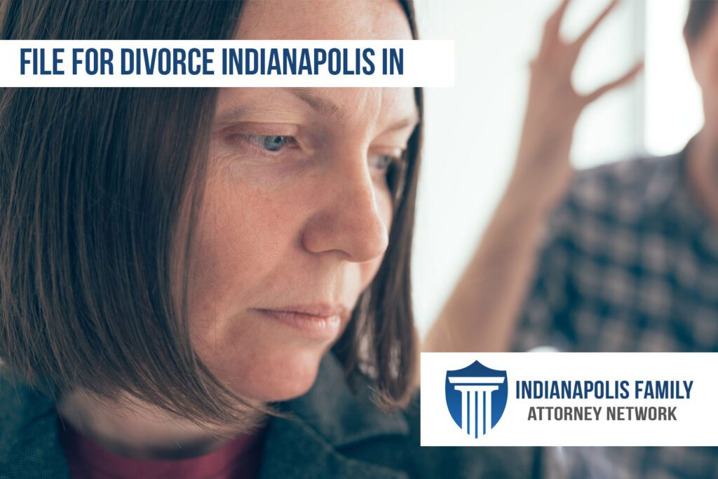 filing for divorce indy